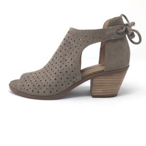 New Lucky Brand Bracy Suede Booties